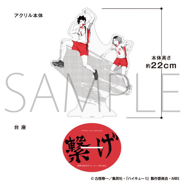 ハイキュー!! ジャンプ! ビッグアクリルスタンド 音駒高校(�CJF受注(限定・先行))
